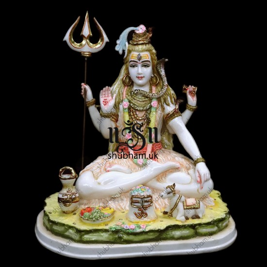 Lord Shankar Statue in the UK - 13 inch