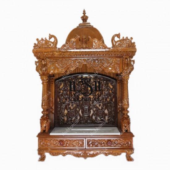 Buy Teak Wood Hand Carved Temple
