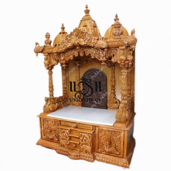 Teak Wood Temple at Best Price in UK
