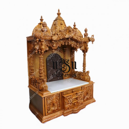 Teak Wood Temple at Best Price in UK