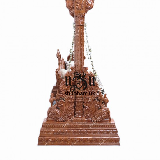 Indian Indoor Wooden carved Indian Swing Jhula UK