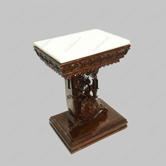 Beautiful Teak Wood Small Wooden Table