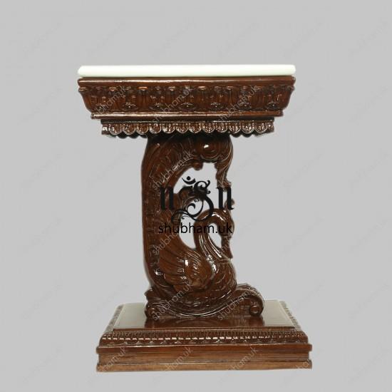 Beautiful Teak Wood Small Wooden Table