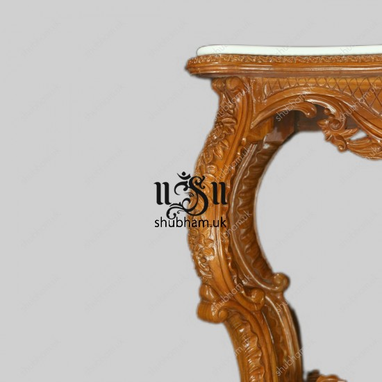 Royal Design Wooden Table for Living Room