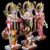 Masterpiece Pure White Marble Ram Darbar Statues Murti UK