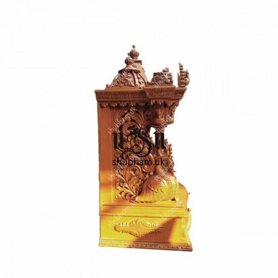 Elegant Crafted Teak wood Temple Mandir UK