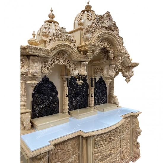 Authentic Indian Sevan Wood Mandir