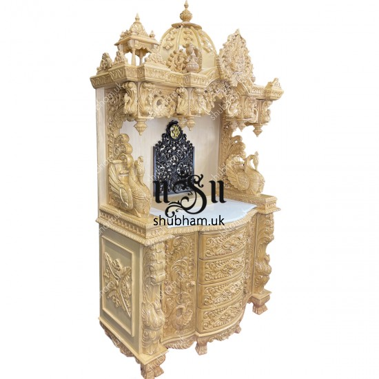 Buy Wooden Temple Made From Superior Quality Teak wood