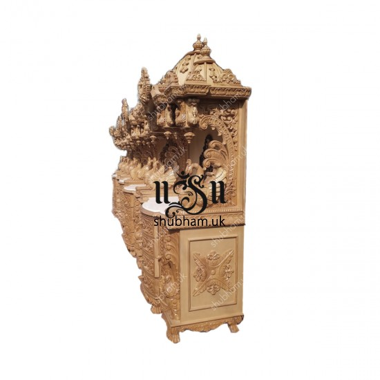 Buy Handmade Sevan wooden temples with high drawers