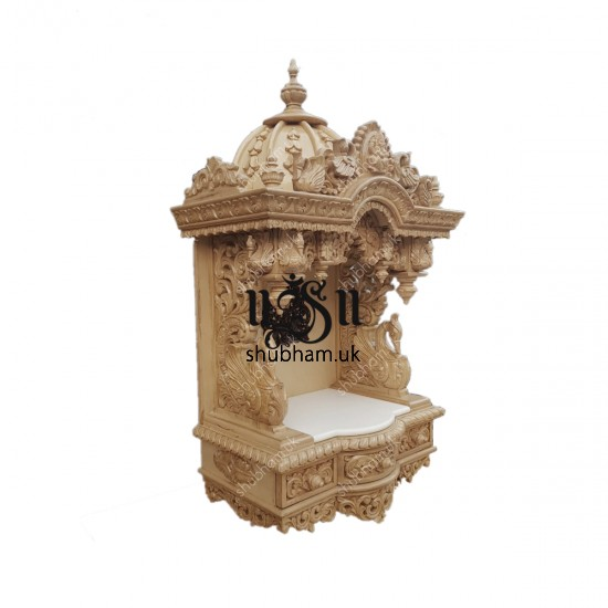 Small Wall mounted or floor standing  Sevan Wood Temple