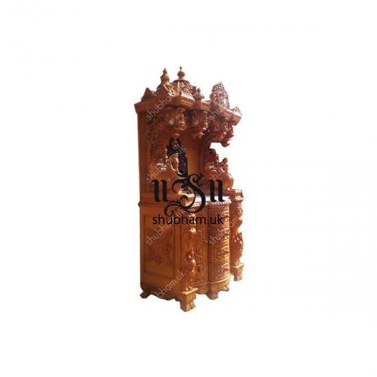 Superior Quality Teak Wooden Temple