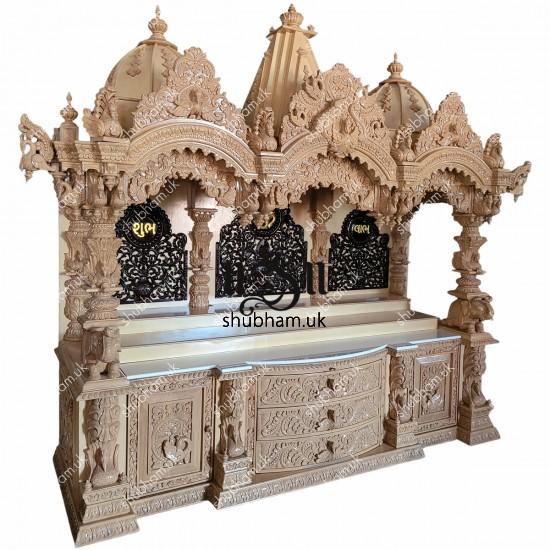Master Piece - Signature Design BAPS Swaminarayan Sevan Wood Temple UK