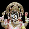 Classic Ganesh ji Seated on Lotus Flower - 18 inch