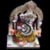 Exquisite Ganesh Ji Statue with Special Sinhasan - 18 inch