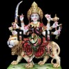 Beautiful Durga Ji Marble Statue  UK - 18 inch