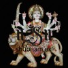 Magnificent Ambe Durga Maa Murti with Lion - 24 inch