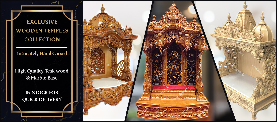 Indian Wooden Carved Temples