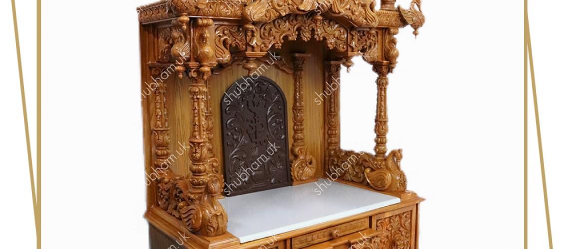 Teak Wood Temples